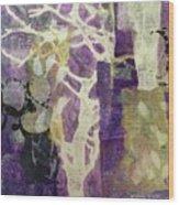 Violet Wood Print