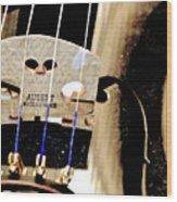 Violin 2a Wood Print