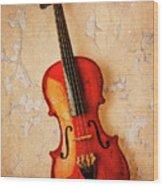 Violin Dreams Wood Print