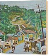 Virajpet Town Wood Print