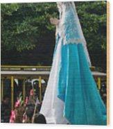 Virgen Concepcion De Ataco 4 Wood Print
