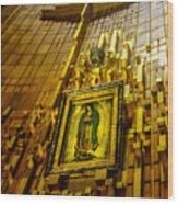 Virgen De Guadalupe 10 Wood Print