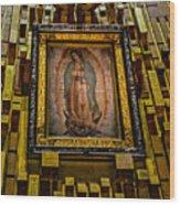Virgen De Guadalupe 6 Wood Print