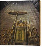 Virgen De Guadalupe 9 Wood Print