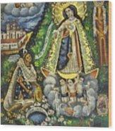 Virgen De Ocotlan Wood Print