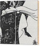 Virgilius The Sorcerer Wood Print