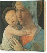 Virgin And Child 1495 Wood Print