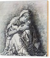 Virgin And Child Madonna Of Humility 1490 Wood Print
