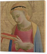 Virgin Annunciate Wood Print