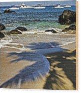Virgin Gorda Beach Wood Print