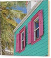 Virgin Island Wood Print