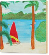 Virgin Island Memories Wood Print