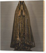 Virgin Mary - Apaneca Wood Print