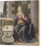 Virgin Mary, From The Annunciation Wood Print