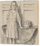 Virginia, 1918 Wood Print