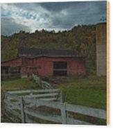 Virginia Barn Wood Print