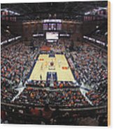 Virginia Cavaliers John Paul Jones Arena Wood Print by Replay Photos