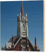 Virginia City Church St Mary Wood Print