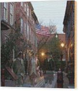 Virginians In Philadelphia Wood Print
