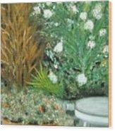 Virginia's Garden Wood Print