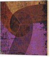 Virgo Illuminations Wood Print