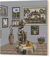 Virtual Exhibition - Source 34 Wood Print
