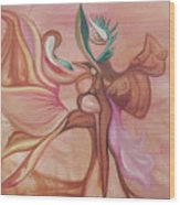 Virtue Of Woman Wood Print