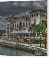 Viscaya Mansion Wood Print