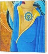 Vishuddha Throat Chakra Goddess Wood Print