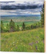 Vision Of Spring Wood Print