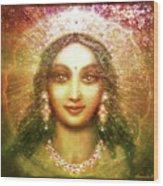 Vision Of The Goddess  Wood Print