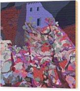Vision Of The Ruins Wood Print