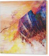 Visions Of Hiranyaloka Revisited Wood Print