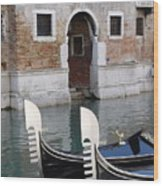 Visions Of Venice 3. Wood Print