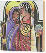 Visitation - Kitchen - Mmvsk Wood Print