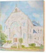 Visitation Monastery Mobile Alabama Wood Print