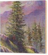 Vista View Wood Print