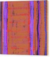 Visual Cadence Xix Wood Print