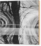 Visual Funk 2 Wood Print