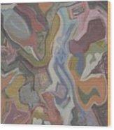 Visual Jazz #20 Wood Print