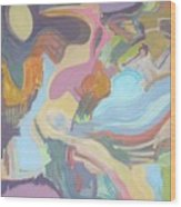 Visual Jazz #22 Wood Print