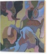 Visual Jazz #23 Wood Print