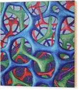 Vital Network IIi Wood Print