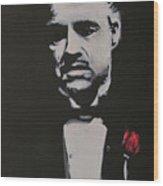 Vito Andolini Corleone Wood Print