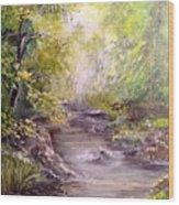 Vitsa River Wood Print