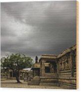 Vittala Temple Wood Print