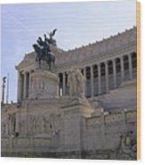 Vittorio Emanuele II Monument Wood Print