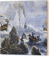 Vitus Jonassen Bering Wood Print