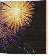 Viva La Celebration Wood Print