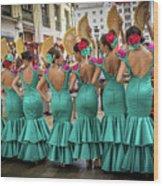Viva La Feria II Wood Print